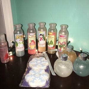 SOAP BATH SET WITH BATH BOMBS
